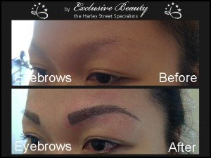 Semi Permanent Make Up - Before and After - Eyebrows 10