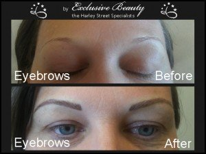Semi Permanent Make Up - Before and After - Eyebrows 11