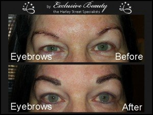 Semi Permanent Make Up - Before and After - Eyebrows 3