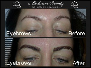 Semi Permanent Make Up - Before and After - Eyebrows 4