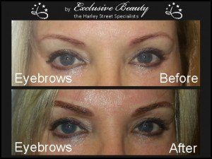 Semi Permanent Make Up - Before and After - Eyebrows 5