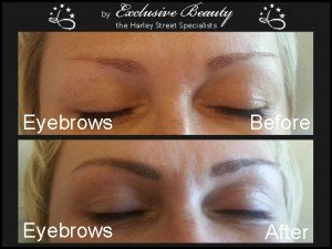 Semi Permanent Make Up - Before and After - Eyebrows 6