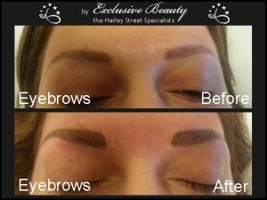 Semi Permanent Make Up - Before and After - Eyebrows 7