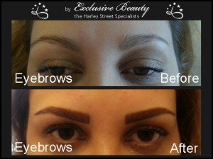 Semi Permanent Make Up - Before and After - Eyebrows 8